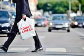 Man carrying plastic bag 2